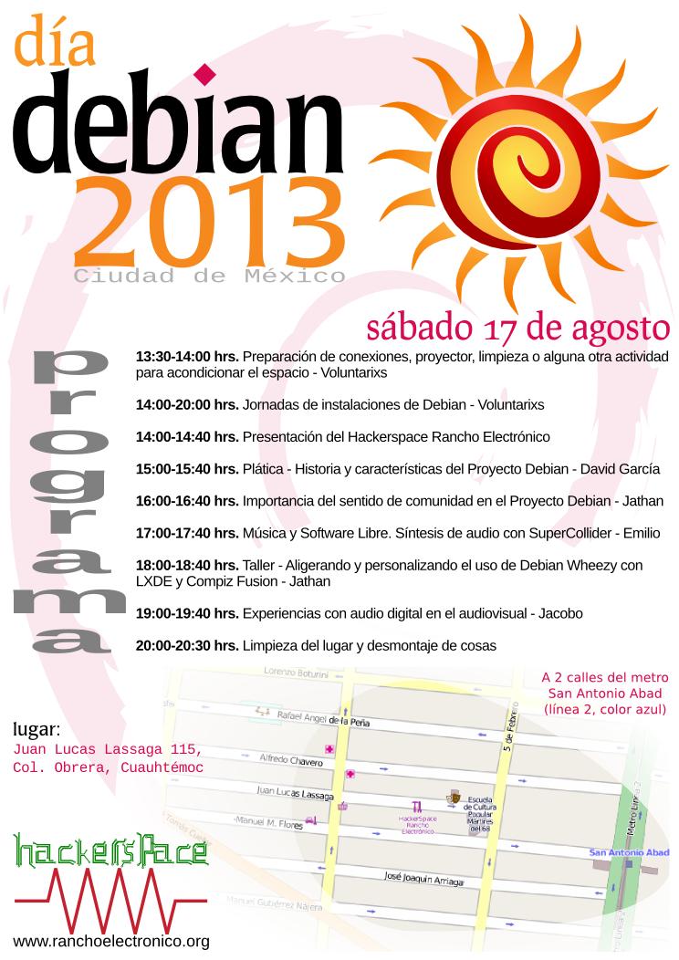 Debian Day 2013 - 17 de agosto