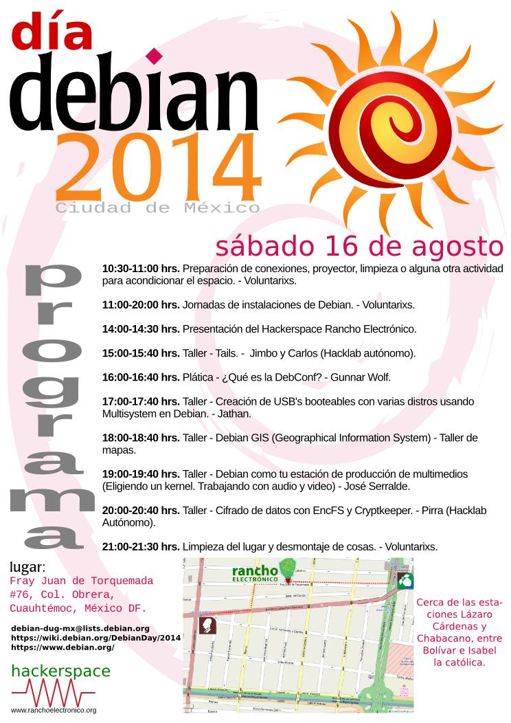 Día Debian 2014